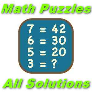 Math Puzzles All Level Answers [All Solved] - Puzzle4U Answers