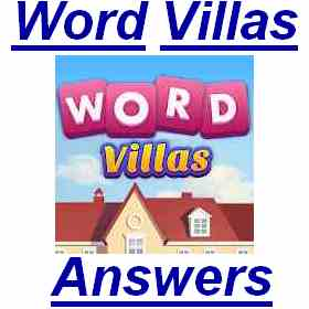 Word Villas Level 20 Answer Puzzle4u Answers